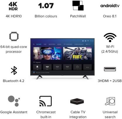 MI TV 4X Pro 50 Inch Television Review India