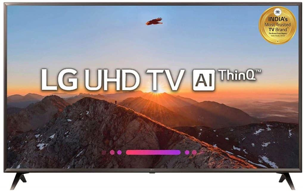 Best LG TV Under and around 100,000 Rs in India
